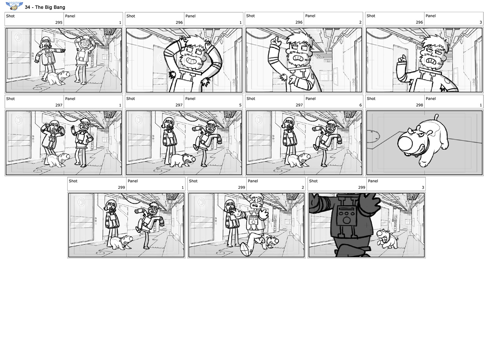 storyboard dogstar bigbang 2